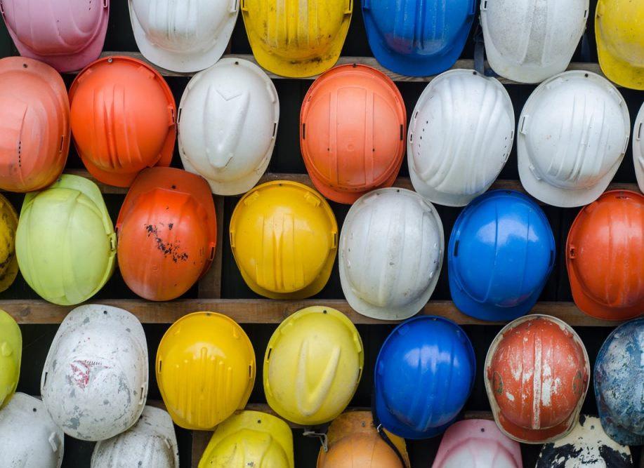 Helmets. Builder's Risk