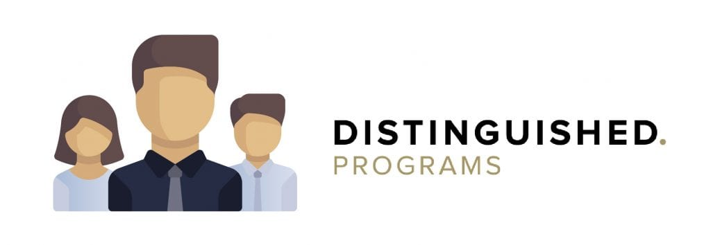 people distinguished programs